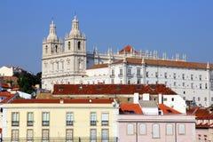 Lisboa - monastério de São Vicente de Fórum Fotografia de Stock Royalty Free