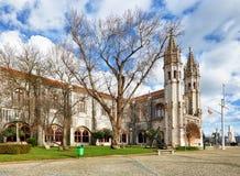 Lisboa, monasterio o Hieronymites, Portugal de Jeronimos Fotografía de archivo libre de regalías