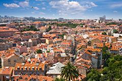 Lisboa Panorama Royalty Free Stock Photos