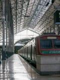 LISBOA, PORTUGAL - 2 DE ABRIL DE 2013: Ferrocarril de Rossio Fotos de archivo