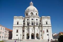 Lisboa, Portugal: fachada del panteón nacional Fotos de archivo