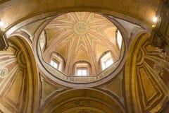 Lisboa, Portugal: la bóveda de la iglesia del NIO del ³ de Santo Antà Imagen de archivo libre de regalías