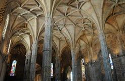 Lisboa, Portugal - monasterio de Jeronimos del renacimiento Foto de archivo
