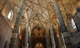 Lisboa, Portugal - monasterio de Jeronimos del renacimiento Imagen de archivo libre de regalías