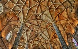 Lisboa, Portugal - monasterio de Jeronimos del renacimiento Imágenes de archivo libres de regalías