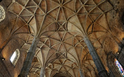 Lisboa, Portugal - monasterio de Jeronimos del renacimiento Imagen de archivo