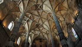 Lisboa, Portugal - monasterio de Jeronimos del renacimiento Fotografía de archivo