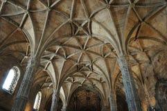 Lisboa, Portugal - monasterio de Jeronimos del renacimiento Imagenes de archivo