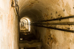 Lisboa, Portugal: o ventre do aqueduto dos Livres dos guas do  de à (águas livres) Foto de Stock Royalty Free