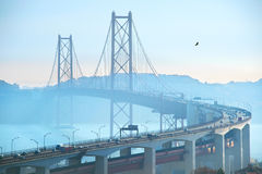 Lisboa puente del 25 de abril, Portugal Foto de archivo