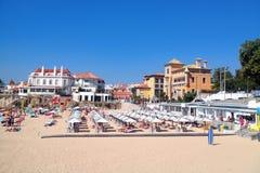 Lisboa Riviera Cascais Curso em Portugal fotografia de stock