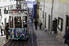 Lisboa's tram Stock Image