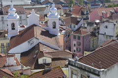 Lisboa. Some Houses in Lisboa, Portugal Stock Images