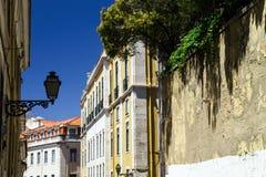 Lisboa street view Royalty Free Stock Photo