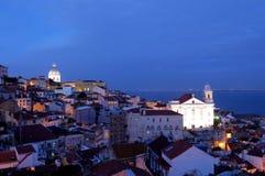 Lisboa velha Foto de Stock Royalty Free
