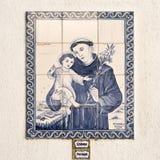 Lisbon – Saint Anthony Tiles Royalty Free Stock Photo