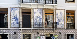 Lisbon – Saint Anthony Tiles Royalty Free Stock Photography