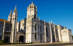 Lisbon. Outside of Monastery of jeronimos,lisbon royalty free stock photos