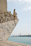 Lisbon. The Padrao dos Descobrimentos (Monument to the Discoveries) in Lisbon, Portugal Royalty Free Stock Photography