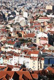 Lisbon. Seen from the Castle Royalty Free Stock Images