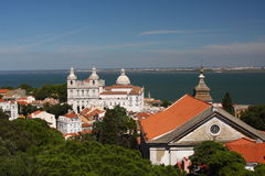 Lisbon. View of the city of Lisbon, Portugal Royalty Free Stock Photos