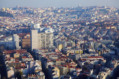 Lisbon - aerial view of the city Royalty Free Stock Photography
