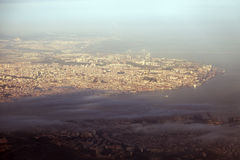 Lisbon - aerial view of the city Stock Images