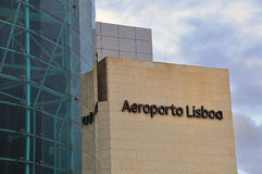 Lisbon airport Royalty Free Stock Photos