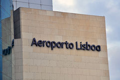 Lisbon airport Royalty Free Stock Photography