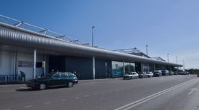 Lisbon Airport - Terminal 2 Stock Images