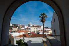 Lisbon, Alfama. Old city Royalty Free Stock Photo