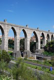 Lisbon Aqueduct Royalty Free Stock Images