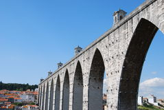 Lisbon Aqueduct Stock Photos