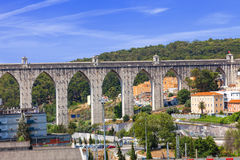 Lisbon aqueduct, Portugal Stock Photography