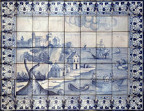 Lisbon azulejos Royalty Free Stock Photography