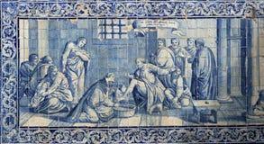Lisbon azulejos Stock Image