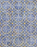Lisbon azulejos Royalty Free Stock Photo