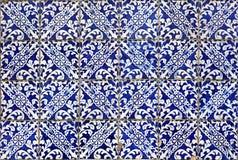 Lisbon azulejos Obrazy Royalty Free