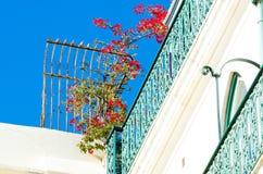 Lisbon balcony Stock Photo