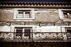 Lisbon balcony Royalty Free Stock Images