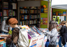 Lisbon Book Fair Royalty Free Stock Photos