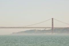 Lisbon bridge Stock Photos