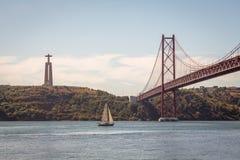 Lisbon Bridge. Lisbon 25 Abril Bridge in Portugal Royalty Free Stock Image