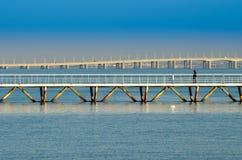 Lisbon bridges stock image
