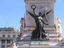 Lisbon brązowy Obraz Royalty Free