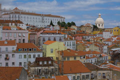 Lisbon buildings Royalty Free Stock Photos