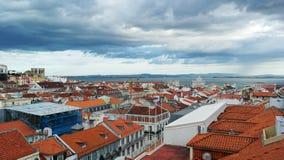 Lisbon, the capital city of Portugal Stock Image