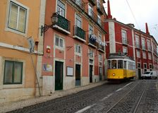 Lisbon, the capital and the largest city of Portugal. Royalty Free Stock Image