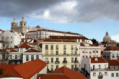 Lisbon, the capital and the largest city of Portugal. royalty free stock photos