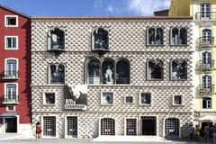 Lisbon Casa dos Bicos Stock Photos